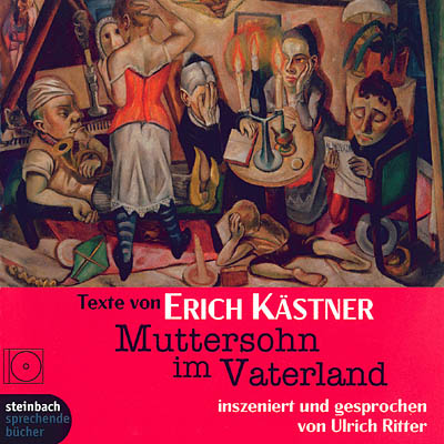 Cover - Erich Kästner - Mother's son in the fatherland