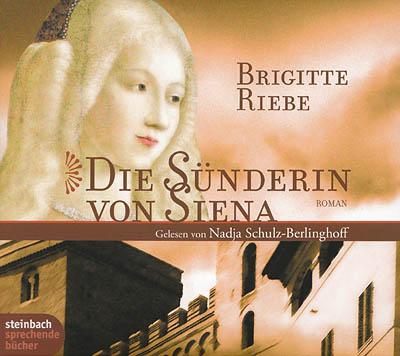 Cover - Brigitte Riebe - Die Sünderin von Siena