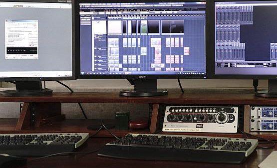 recording studio - control room